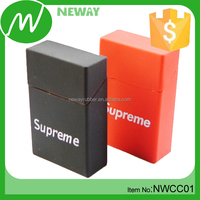 Colorful Soft Silicone OEM Branded Cigarette Case