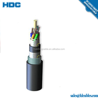Fiber optical cable corrugated steel armor single mode 8 core For turkey