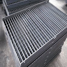 Competitive price Serrated hot galvanized stair treads steel bar grating standard weight