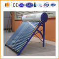 low pressurized solar water heater for family use