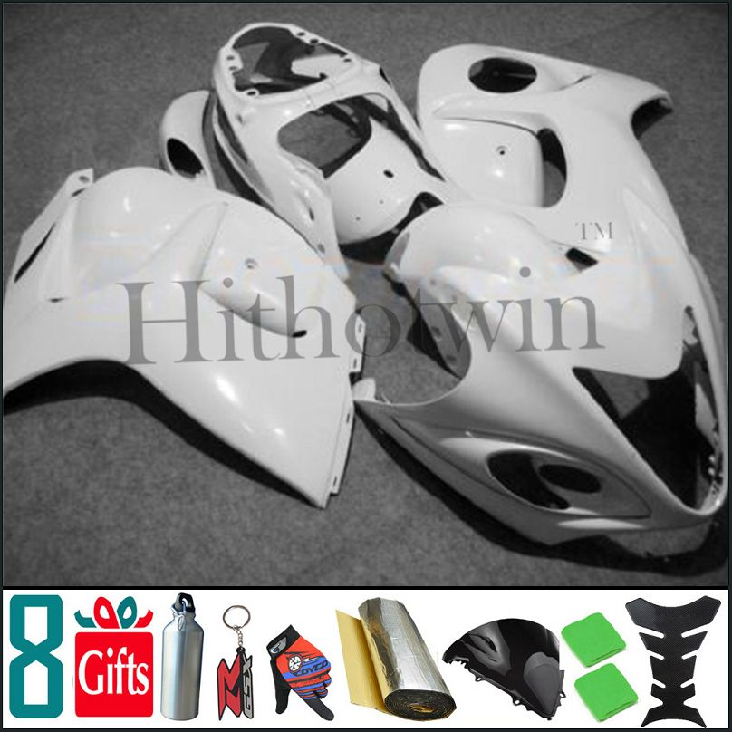 2008 2009 2010 2011 GSX1300R all brilliant white pure white body Kit Fairing For Suzuki GSX 1300R Hayabusa GSX 1300 <strong>R</strong> 08 09 <strong>10</strong>