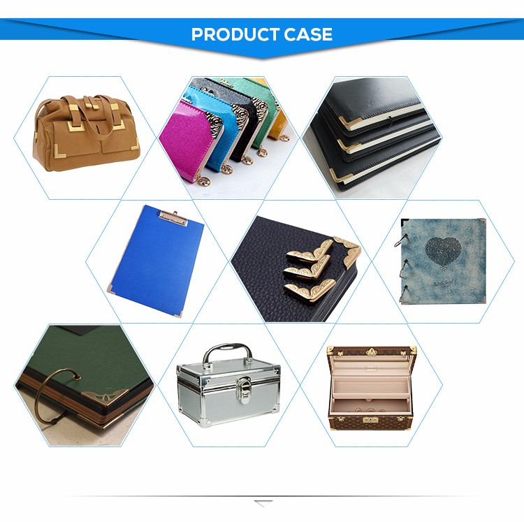 Metal corner protection for handbag / book / box corn