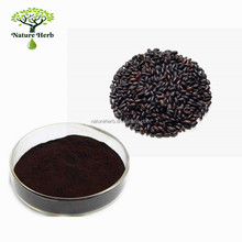 Manufacturer Supply Pure Natural Black Rice Seed Extract Powder