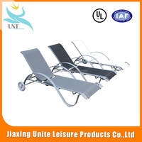 China factory direct selling outdoor furniture Portable metal folding beach chair, Folding reclining Personalized beach chairs