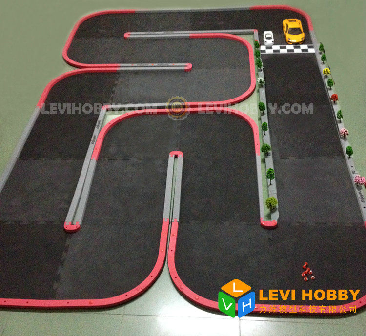 Levihobby 6x2m Mini Z Rc Car Track Rcp Race Runway Indoor