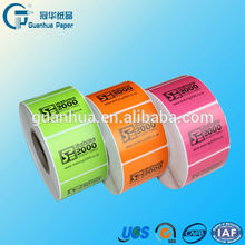 direct thermal barcode label for label sticker printer