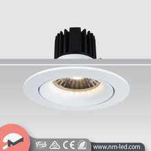 China Manufacturer Aluminum COB Light 6W Recessed LED Downlight Dimmable