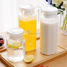 1000ml glass jug and cup/drinking glassware