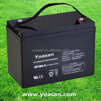 Yuasan Reliable Quality 6V 180AH Rechargeable AGM Sealed 6V Battery--NP180-6(6V180AH)