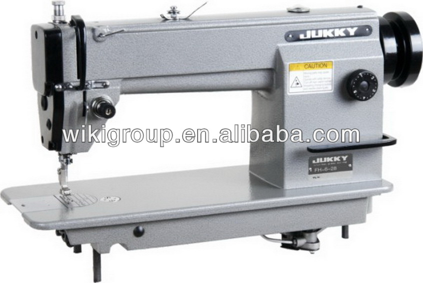 6-28 industrial hair weft/weaving sew machine