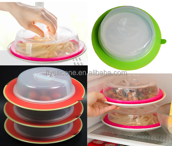 Eco-friendly As Seen on TV Silicone Lid 25cm