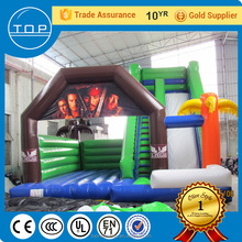 air bounce house with slide combo inflatable bouncer bouncy jumping jumper castle playground toys kids adults