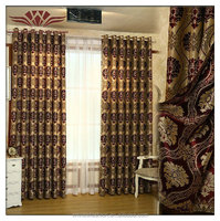 gobled curtains, cubicle curtains ,Top Lined Blackout Curtain Panel