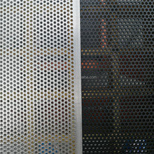 Round Hole Aluminum Perforated One Way Vision Window Screen(Factory)