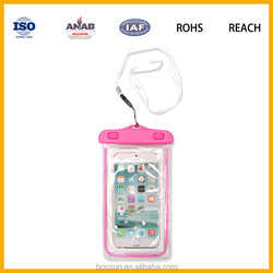 Floating Waterproof Case Swimming Dry PVC Bag Protects your Cell Phone and valuables