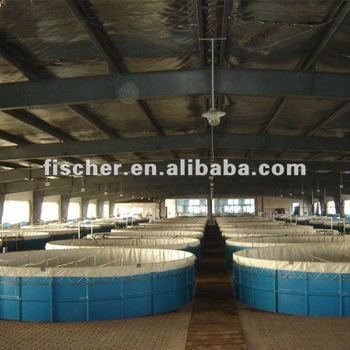 big FRP fish tank for fish farm,fibregalss fish tank, fiberglass fish tank