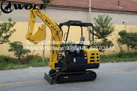 model excavator, mini excavator for sale, WOLF 1.8Ton mini excavator new prices