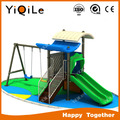 Customized outdoor play equipment happy playground games playground near me with swing