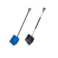 high quality Portable deep shovel head plastic push snow shovel
