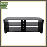 black lcd glass tv stand tv remote control protective tv liquidation RAV508