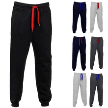 Mens Fashion Warm Sweatpants Sporting Trousers Joggers Long Pants Slim Fitness Leggings Pant Casual Sportwear