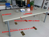 Movable Folding Training Table For Conference Meeting Room