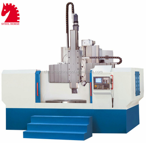 Steel horse heavy duty CNC/normal vertical lathe machine price