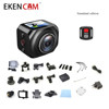 Original Eken R360 VR Camera Wifi 1.5inch 1080p HD Camcorder with 2.4G remote control VR360 Panoramic Sports Action Camera