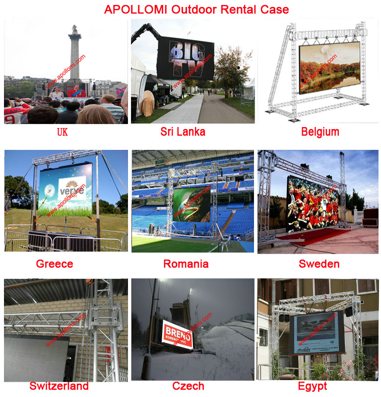 display USA UK XXXX video sexy photo price of rental P10mm led screen