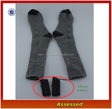 Customize Thermal Socks With Lithium Battery/Thick High Performance Keep Foot Warmer Long Time Socks---AMY150520