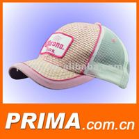 2015 Embroidery Straw baseball caps and hats for women