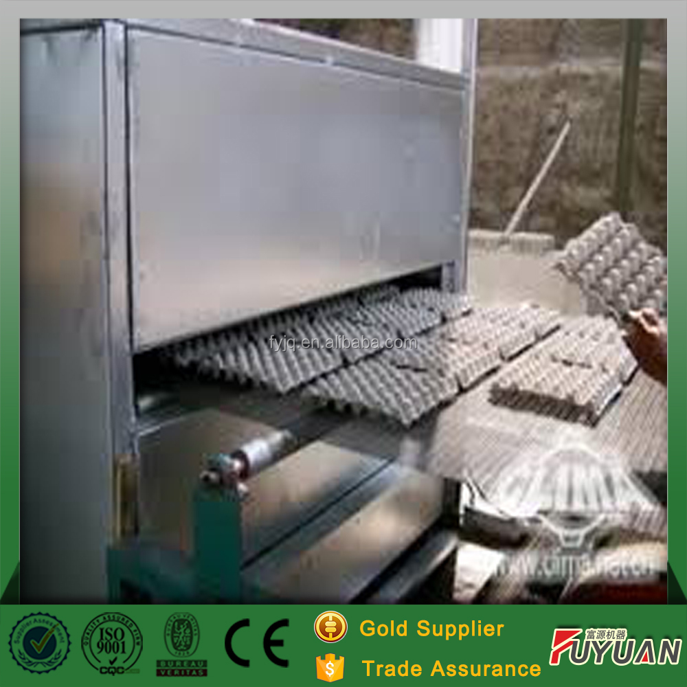 hot !!!machine making egg tray for farming using