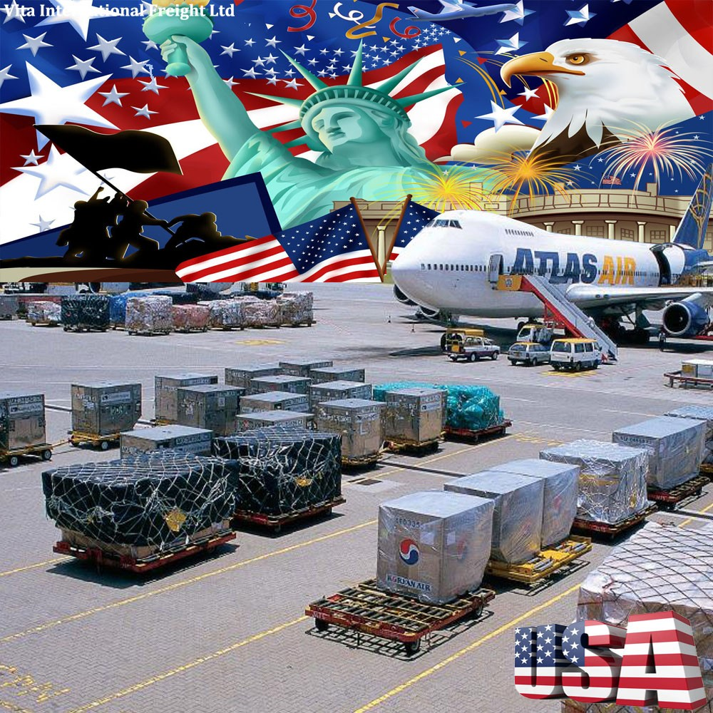 freight forwarder air Shipping Company china to usa with best service