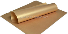 Copper Grill Mat ptfe reuseable non-stick black oven liner gold Easy to Clean
