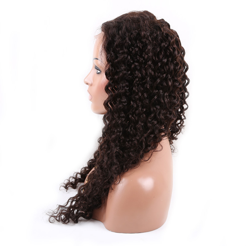 Long ombre two toned full lace front remy brazilian human hair wigs for black women