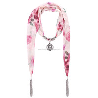Best Christmas Gift for Girls,Fashion Multi Floral Ladies Scarf on Sale