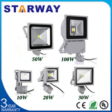 Hot Selling led outdoor led flood light housing light with 12v 100w led flood light