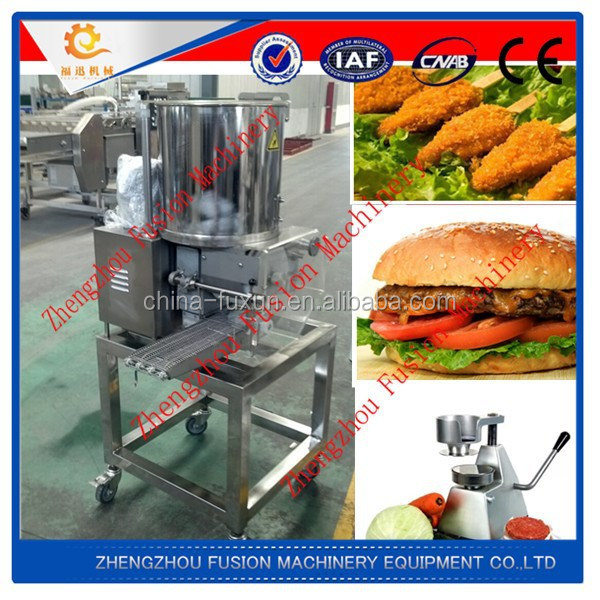 FACTORY BEST PRICE frozen patties machine/burger machinery patties