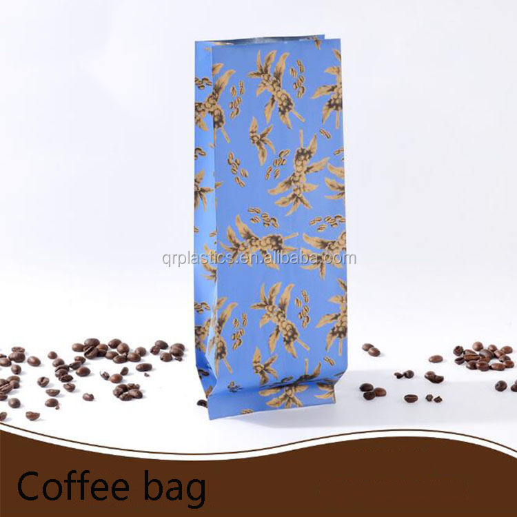 New product of flat bottom gusset aluminum Laminated coffee matte Pouc/Plastic coffee Packing Bag (ML-E10)