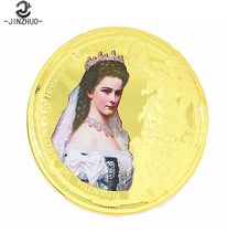 China suppliers custom antique princess commemorative coin for collectible