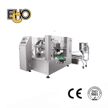 Automatic Rotary Premade Pouch Filling And Sealing Machine for Oil