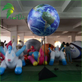 Led Lighting Inflatable Decorative Tripod Balls / Led Inflatable Earth World Globe