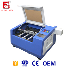 New Products Julong Laser Tube 40W Co2 Laser Engraving Machine For Silicone Bracelet 3040