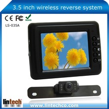 "Made in China-3.5"" Wireless licence plate camera car rear view system (LS-035A)"