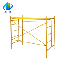 1219*1700 mm H frame scaffolding and scaffolding cross braces