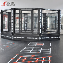 mma octagon cage floor boxing fighting competition rings