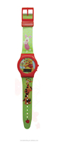 wholesale high quality print strap kid digital watch