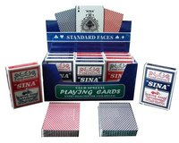 glass playing cards, glass poker