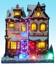 Hotsale Christmas fiber optic house