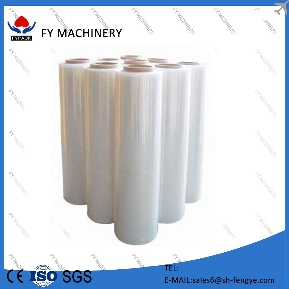 protection film clear food grade PE stretch film for food wrap